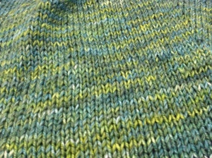 Miles of stockinette